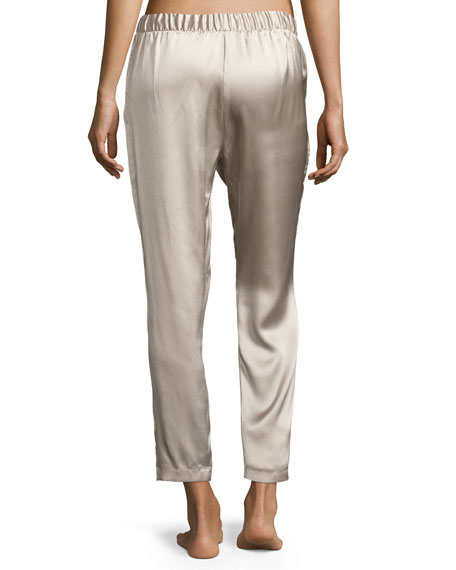 Silk Track Lounge Pants