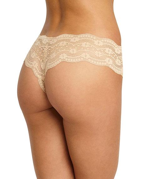 Petunia Lace Thong