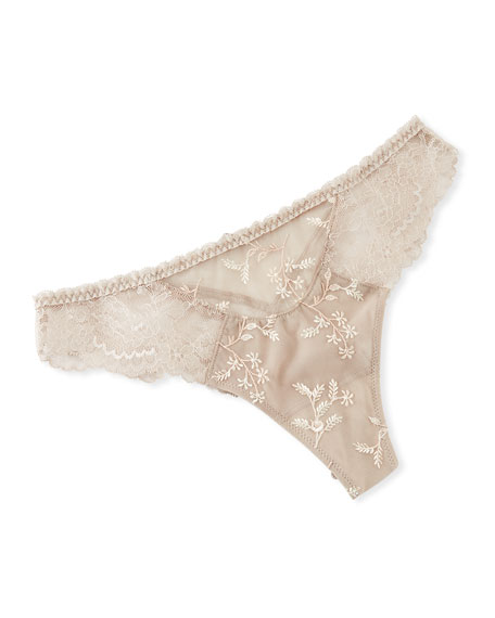 Raffinement Precieu Lace Thong