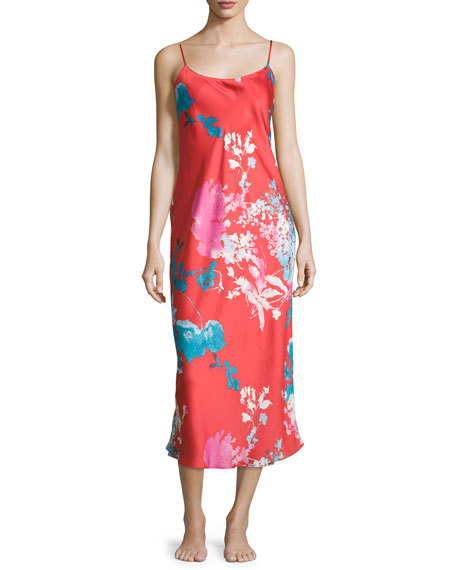 Natori Chianti Floral Gown