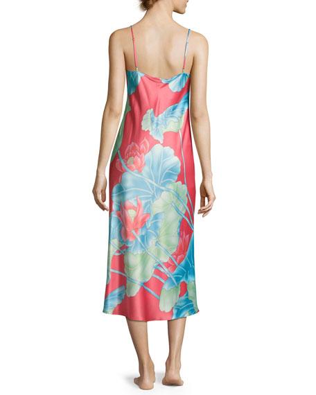 Lian Long Satin Nightgown