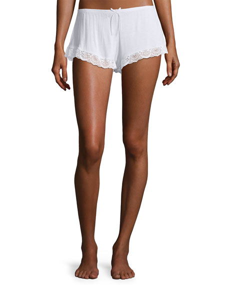 Eberjey I Do Lace-Trim Lounge Shorts
