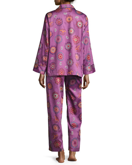 Myan Printed Pajama Set