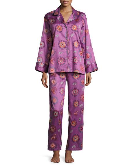 Natori Myan Printed Pajama Set