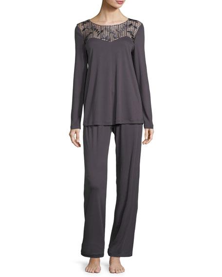 Violetta Long Pajama Set
