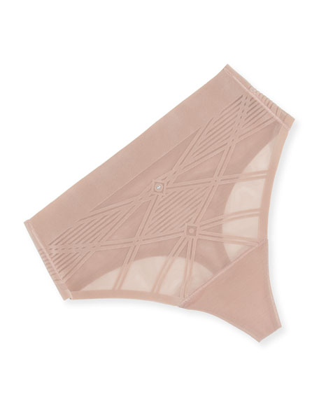 Sheer Decadence Shaping High-Waist G-String