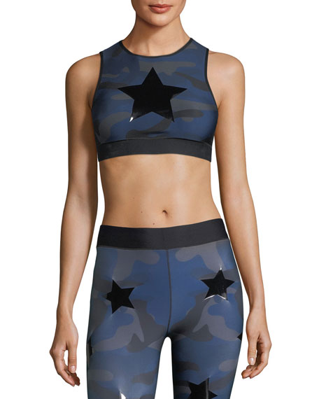 Ultracor Level Camo-Print Knockout Crop Top