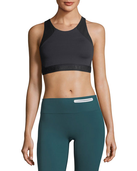 Under Armour BreatheLux Mid Strappy-Back Sports Bra