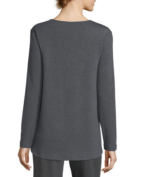 Brushed Knit Lounge Top