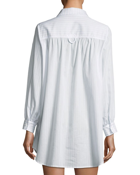 Undine Long-Sleeve Sleepshirt