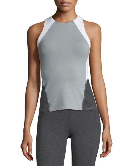 Heroine Sport Olympic Colorblocked Performance Top