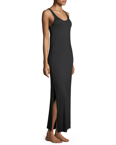 Yasmine Tea-Length Jersey Nightgown
