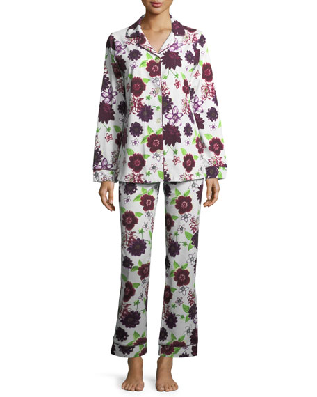 Bedhead Fall Floral Long-Sleeve Pajama Set