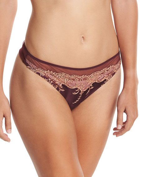 Splendeur Soie Lace Thong