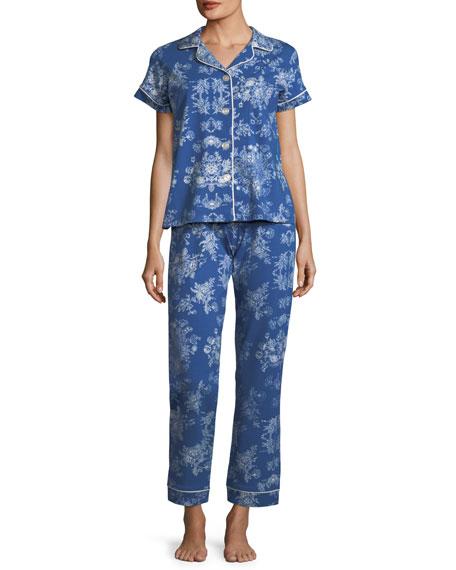 Mystery Garden Short-Sleeve Classic Pajama Set