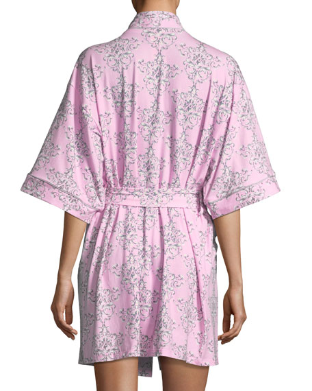 Painted Damask Robe