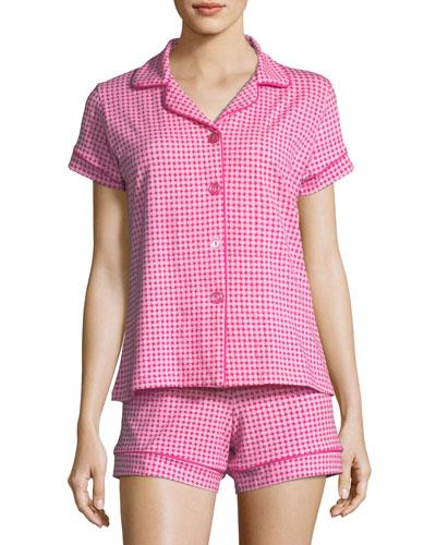 Pearls Shorty Pajama Set