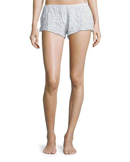 Xirena Shyla Pinstriped Lounge Shorts and Matching Items