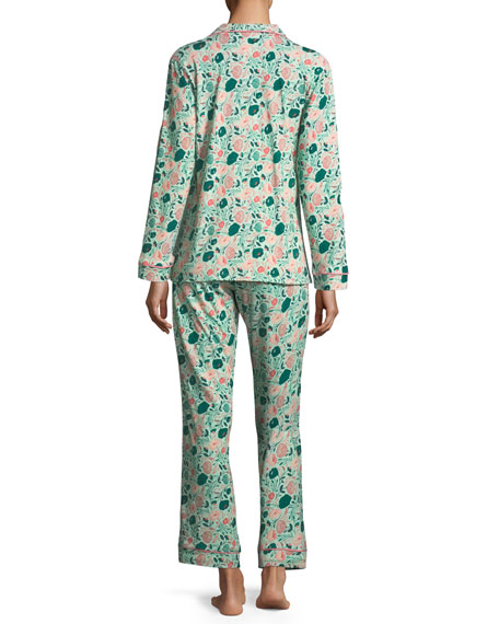 Florence Swirl Long-Sleeve Pajama Set