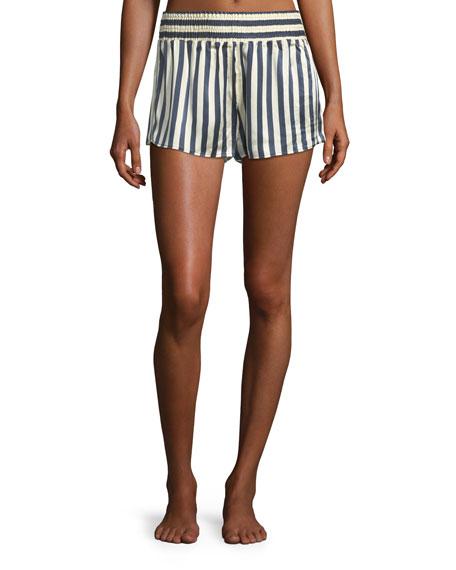 Morgan Lane Corey Owl-on-the-Moon Pajama Shorts