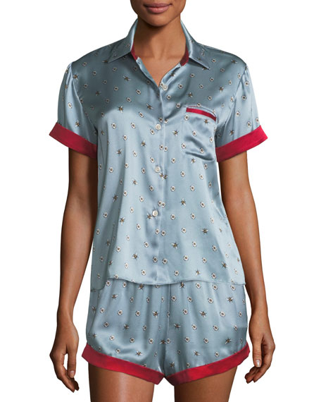 Staci Bee Daisies Pajama Top