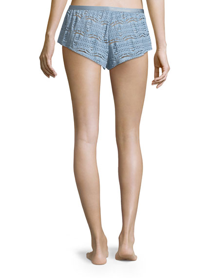 Bisou Lace Lounge Tap Shorts
