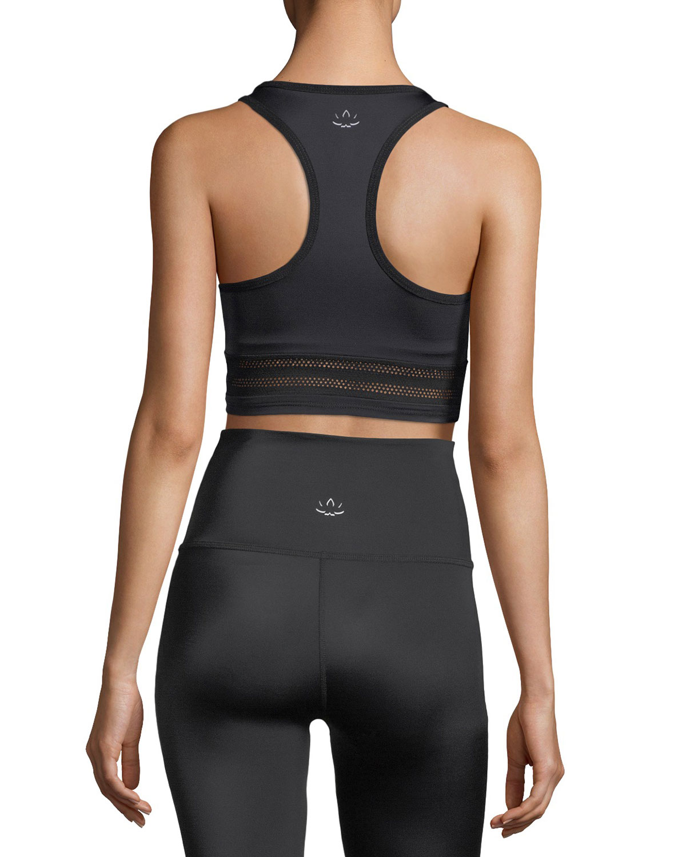 c1a5252b30d19 Beyond Yoga Mesh to Impress Compression Lux Sports Bra | Neiman Marcus