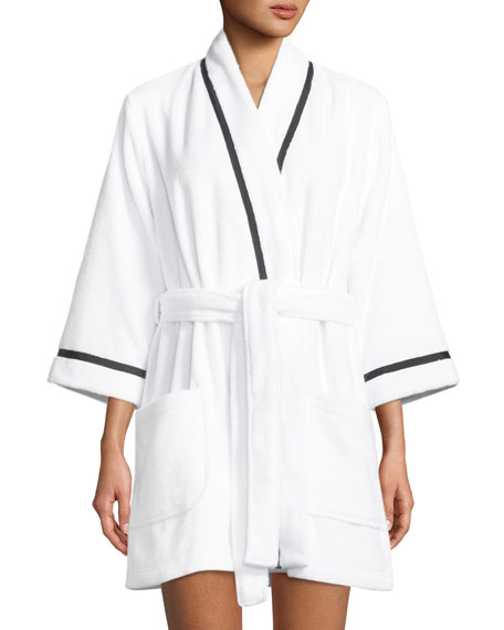do not disturb cotton robe
