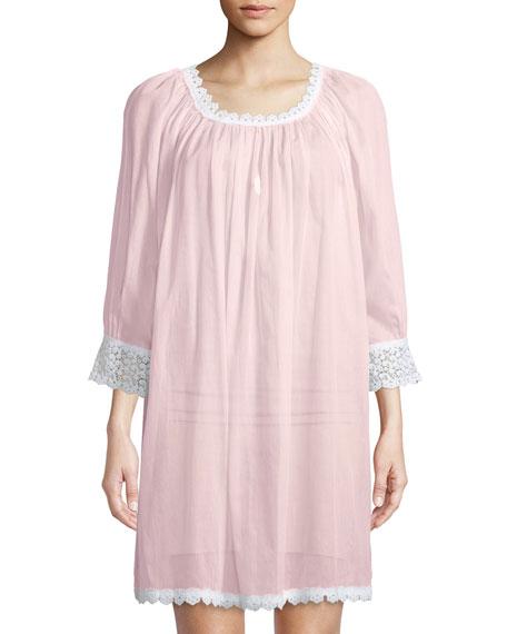 Celestine Donata Lace-Trim Sleepshirt