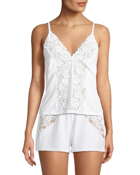 Cosabella Jazmine Lace-Trim Lounge Camisole