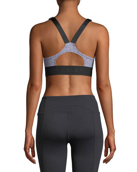 Gale Chevron Sports Bra