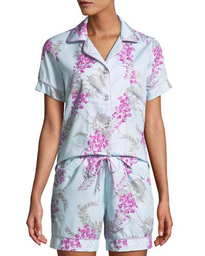 Wisteria Shorty Pajama Set