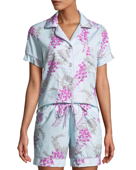 Wisteria Shorty Pajama Set