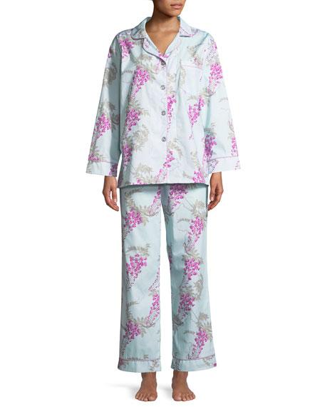 Wisteria Classic Pajama Set, Plus Size