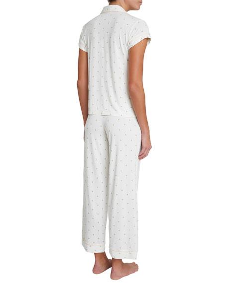 Eberjey Giving Palm Long Pajama Set