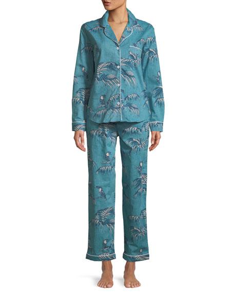 Desmond & Dempsey Bocas Classic Pajama Set
