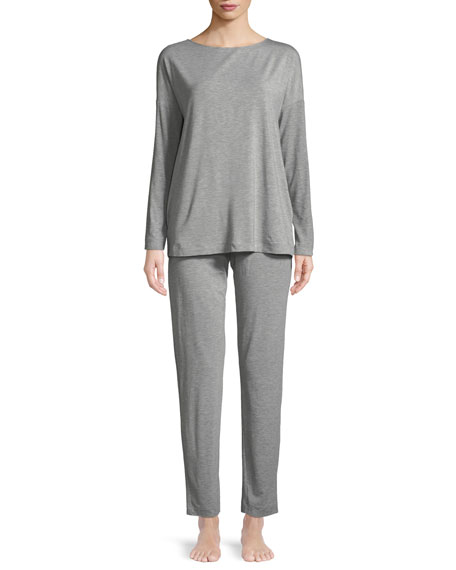 Natural Elegance Long Pajama Set