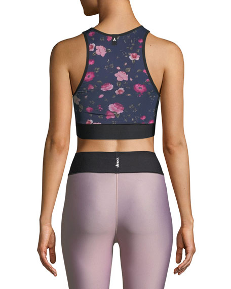 Altitude Botanica Printed Performance Crop Top