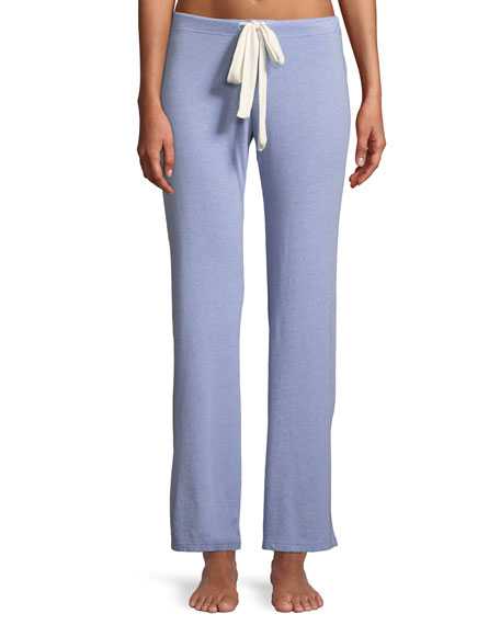 Wide-Leg Lounge Pants