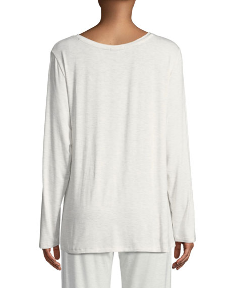 Helene Long-Sleeve Lounge Top