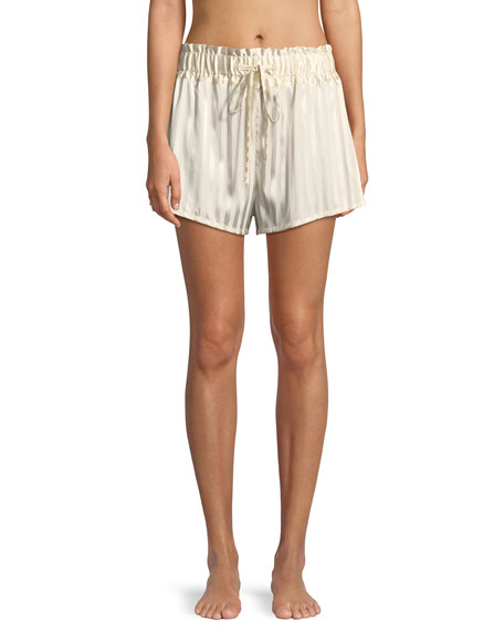 Morgan Lane RICKIE MARLE STRIPE PAJAMA SHORTS