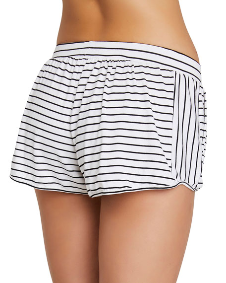 Vega Striped Not-So-Basic Lounge Shorts
