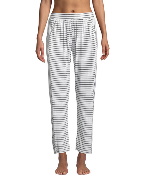 Eberjey Vega Not-So-Basic Striped Lounge Pants