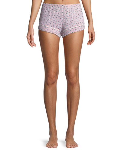 Petite Fleur Pajama Shorts