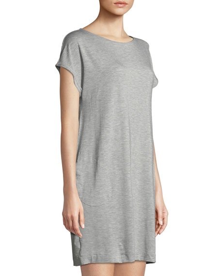 Natural Elegance Cap-Sleeve Nightgown