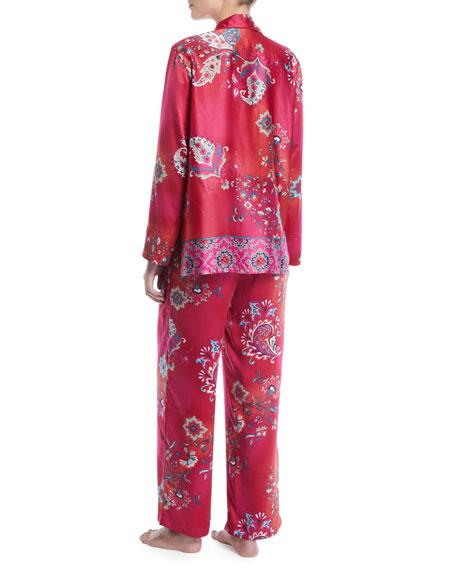 Buddakan Classic Satin Pajama Set