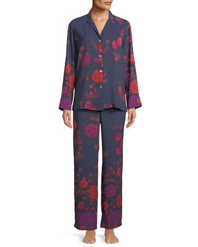 Botanica Classic Printed Pajama Set