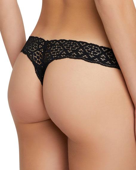 Kaia Seamless Lace Thong