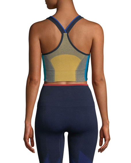 Trigger Knitted Performance Sports Bra