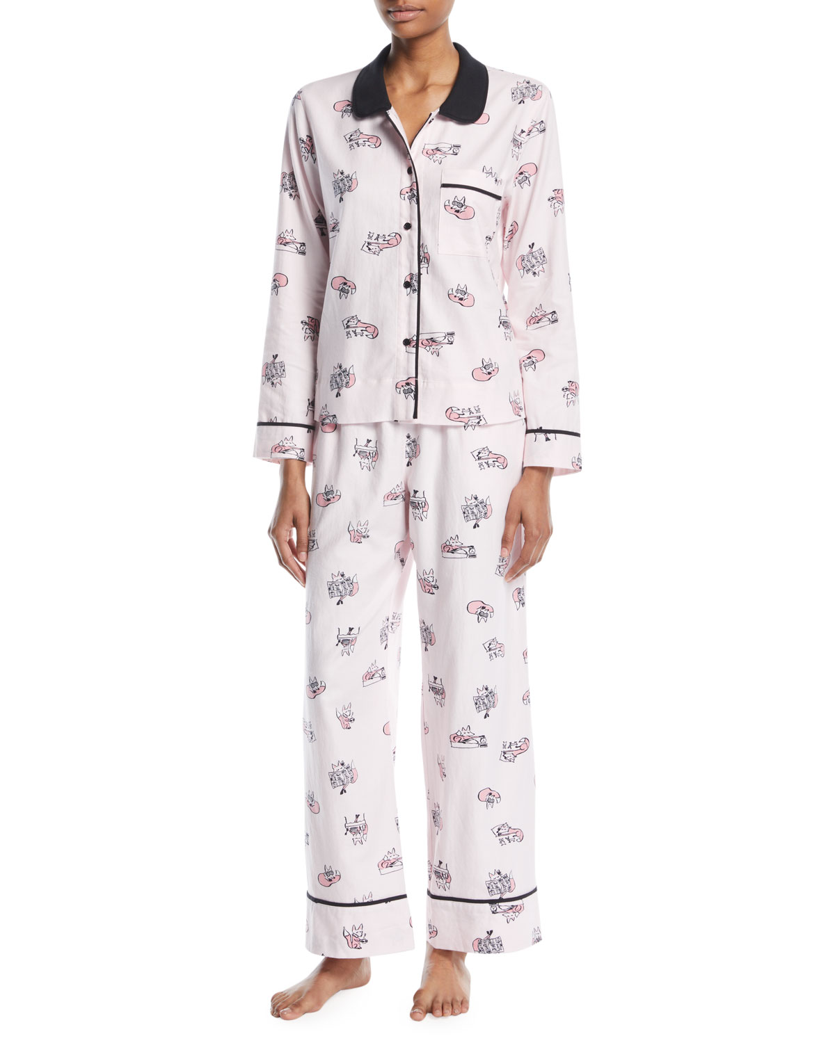 Kate Spade New York Foxy Lady Classic Pajama Set